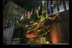 Rockefeller Center - New York City (vonhoheneck) Tags: newyork manhattan city usa schölkopf schoelkopf canon eos6d bigapple eastriver hudson themet centralpark nyc water beach river sea sunset nypd timesquare people rockefellercenter prometheus paulmanship lowerplaza rockefellerplaza