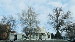 Stopped @ Red (Robert Cowlishaw (Mertonian)) Tags: morning commute morningcommute dawn peaceful canonpowershotg1xmarkiii mertonian canon powershot g1x mark iii cloudy robertcowlishaw trees clouds sky ineffable awe wonder stoplight winter february