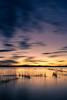ALBUFERA (jgapsan) Tags: españa comunidadvalenciana valencia elsaler albufera embarcadero largaexposicion nubes atardecer sunset lago redes