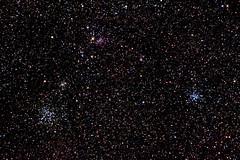 Open Clusters (pablo_blake) Tags: m38 m36 ngc 1907 opencluster auriga d5500 ioptronskytrackerpro ngc1931 ic417 ngc1960 ngc1912 astrometrydotnet:id=nova2388034 astrometrydotnet:status=solved