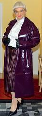Ingrid025830 (ingrid_bach61) Tags: coat mantel ruffledblouse rüschenbluse pleatedskirt plisseerock