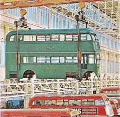 London transport Green Line RT body Aldenham works 1962. (Ledlon89) Tags: rtbus rt rtl aecregent leylandtitan londonbus londonbuses londontransport lt lte aldenhamworks overhaul london bus buses vintagebuses 1962