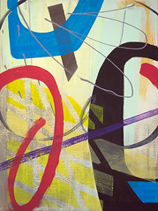 Abstract composition (Natasha Davydova) Tags: art artwork acrylic painting picture canvas object line hardedge abstract abstraction