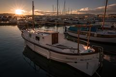 Côte d'Azur - Cannes (Rafael Zenon Wagner) Tags: sundown reflection france frankreich water wasser light licht shadows schatten