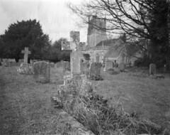 +|+|| (Mark Dries) Tags: markguitarphoto markdries wanderlust travelwide plusx expired 1982 largeformat 4x5 uk avebury cemetery