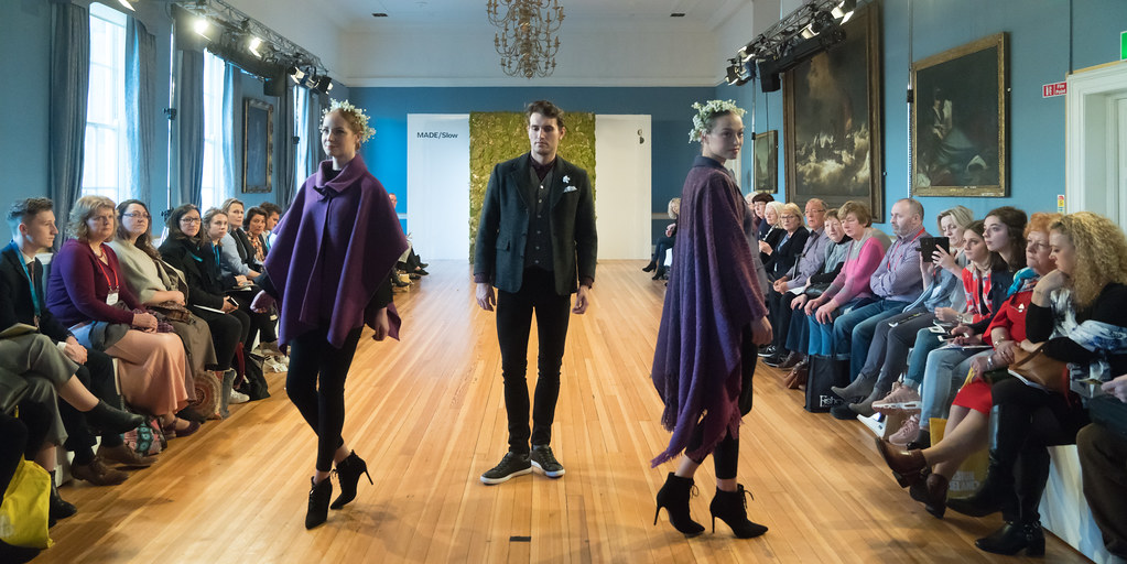 MADE-Slow PRESENTATION OF QUALITY IRISH FASHION DESIGN - STUDIO DONEGAL [FASHION SHOW AT THE RDS JANUARY 2018]-136254