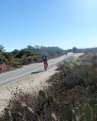 016 The San Gabriel River Bike Path (saschmitz_earthlink_net) Tags: 2018 california orienteering irwindale losangelescounty santafedam santafedamrecreationarea laoc losangelesorienteeringclub road bike path brush cactus participant