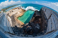Black Point Seawater Pool (Bombilations.com) Tags: nikon nikond750 tamron1530 rokinon12mmfisheye oahu hawaii tamron rokinon