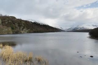 6940  Llyn Padarn and a snow covered Eryri