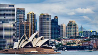 Sydney Opera House from Taronga Zoo