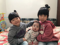 20180219 (violin6918) Tags: violin6918 taiwan pingtung apple iphoto7plus i7 mobile 過年 小饅頭 cute lovely littlebaby angel children child pretty princess baby portrait kid daughter girl family vina shiuan