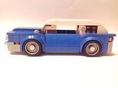 American classic car (Be-C Custom Brick) Tags: lego moc speed champion muscle car american bec custom brick voiture