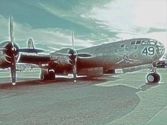 WW2 bomber (sirhowardlee) Tags: bomber military war relic