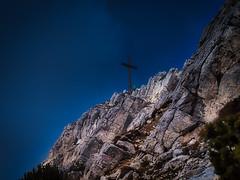 JOCHGRIMM WEISSHORN - Südtirol - Gipfelkreuz