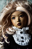 antique rosy (lauradavison) Tags: bjd abjd artist resin sd doll female portrait tan supia rosy leekeworld wig dollheart dress