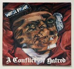 A0522 WARFARE A Conflict of Hatred (vinylmeister) Tags: vinylrecords albumcoverphotos heavymetal thrashmetal deathmetal blackmetal vinyl schallplatte disque gramophone album