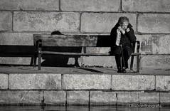 Fría soledad (Omicron Fotografía) Tags: soledad vejez blancoynegro retrato