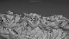 White Golden (Frédéric Fossard) Tags: monochrome noiretblanc blackandwhite paysage montagne mountain neige snow vallon valley snowcapped cimes crêtes arêtes mountainrange mountainridge mountainside mountainpeaks picdemontagne flancdemontagne alpes savoie belledonne altitude horizon montagnesenneigées hiver winter
