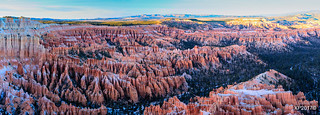 Sunset Glow at Bryce Point