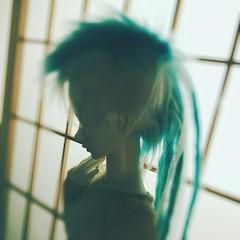 Luv (tarengil) Tags: bjd abjd asian doll dollmore zaolluv zaoll luv dreadlocks cyberlox balljointeddoll