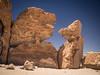 tête-à-tête (Mariasme) Tags: rockformation natural windsculpted two heads profiles bolivia desert