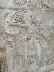 Khorsabad Palace, Baghdad archaeological museum   (29).jpg (tobeytravels) Tags: iraq archaeological museum baghdad assyrian hunting palace sargon11