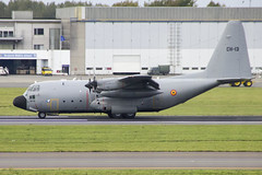 CH-13 | Belgian Air Force | Lockheed C-130H Hercules | CN 4047 | Built 1964 | BRU/EBBR 11/10/2017 (Mick Planespotter) Tags: aircraft airport 2017 ch13 belgian air force lockheed c130h hercules 4047 1993 bru ebbr 11102017 nik sharpenerpro3 zaventem
