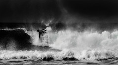 When Tick Followed Tock. (Nigel Jones QGPP) Tags: surf surfing surfer wave sea