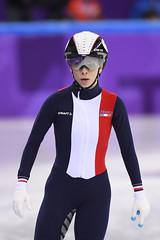 Short track - 500 m femmes (France Olympique) Tags: 2018 500m coree games jeux jeuxolympiques jo korea olympic olympicgames olympics olympiques patinage piste pyeongchang qualification short skating south speed sport sud track vitesse winter women coréedusud