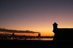 Puesta del sol (hinakomotoki) Tags: sol havana habana cuba moro foltaleza fuerte sky cielo puestadelsol sea mar