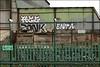 4ce / Zonk / Enta (Alex Ellison) Tags: 4ce force enta zonk dds ac northwestlondon urban graffiti graff boobs trackside railway