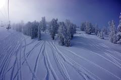 Early morning at Heavenly (benjaminfish) Tags: snow winter ski kid snowboard powder heavenly california lake 2018 february tahoe