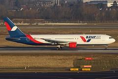 D-AZUA - DUS/EDDL - 24.02.2018 (geraldfischer74) Tags: dazua boeing 767 azur air germany dus eddl düsseldorf rhein ruhr flughafen