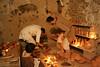 """Castigo al aprendiz (Francisco J. Ardanuy """"Ardius"""") Tags: alfar cerámica alfarería sediles medieval pottery aragón recreación reenacment arcilla barro maestro aprendiz oficio taller"""