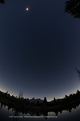 Eclipse Over the Tetons (Wilderness Photographer) Tags: darrenhuski grandteton northamericanscenic wildernessphotographernet wyoming eclipse landscape nationalpark nightscape greatamericaneclipse 2017eclipse samyang sonya7r sony fisheye samyang12mm samyang12mmfisheye rokinon fisheyelens grandtetonnationalpark mountains totality fulleclipse totaleclipse