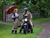 'Chance encounter' (andrew_@oxford) Tags: 1940s land army despatch rider homefront reenactment reenactors timeline events