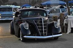 Mooneyes X-Mas Party 2017 (USautos98) Tags: 1937 lincoln zephyr traditionalhotrod streetrod kustom leadsled