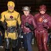 Reverse Flash, Jay Garrick and the Flash (Sconderson Cosplay) Tags: supernova sydney 2016 flash jay garrick hunter zolomon earth2 cosplay reverse barry allen eobard thawne