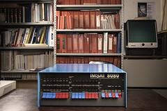 IMSAI 8080 computer, 1977. On background, VAX/VMS Manuals, 1986. (Museo dell'Informatica Funzionante) Tags: musif miai freaknet dyneorg trasformatorio