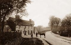 The Bull Inn, Hockley (footstepsphotos) Tags: hockley essex bull inn pub horse road vintage old postcard past historic