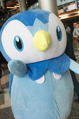 Fanime 2016: Piplup (Eras Photography) Tags: cosplay cosplayphotography animecosplay plushycostumes plushy anime pokemon pokemoncosplay starterpokemon fanime fanime2016 piplup pokemonpiplup