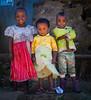 Street Kids (liesbet_sanders) Tags: kids children three sweet cute poverty debark northernethiopia ethiopia simienmountains mountains daytime outdoors streetkids streetlife street travel
