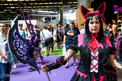 Japan Expo 2017 4e jrs-22 (Flashouilleur Fou) Tags: japan expo 2017 parc des expositions de parisnord villepinte cosplay cospleurs cosplayeuses cosplayers française français européen européenne deguisement costumes montage effet speciaux fx flashouilleurfou flashouilleur fou manga manhwa animes animations oav ova bd comics marvel dc image valiant disney warner bros 20th century fox star wars trek jedi sith empire premiere ordre overwath league legend moba princesse lord ring seigneurs anneaux saint seiya chevalier du zodiaque