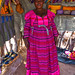 Herero woman in her shop