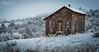 """A Cold Winter's Dawn"" - Boulder County, Colorado (www.rootsstudiophoto.com) Tags: openspace publicland colorado bouldercounty lyons frontrange cabin homestead ranch historicbuilding mountains snow winter coloradolandscape rockymountains"