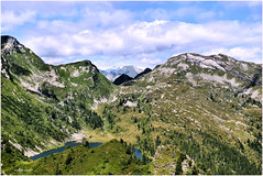 Pano bocchetta di Cansgéi & pizzo Alzasca (arno18☮) Tags: vallemaggia onsernone vergeletto doia categn alzasca isorno locarnese montagnes nature lake laghetto clouds nuages nubi ladscape muntains vert cièl cortedicima nikon valleonsernone ticino tessin switzerland suisse bocchetta passage eau sauvage roches arbres sapins neige cappannaalzasca sfile porcaresc albezzona ribia cramalina lago canaa