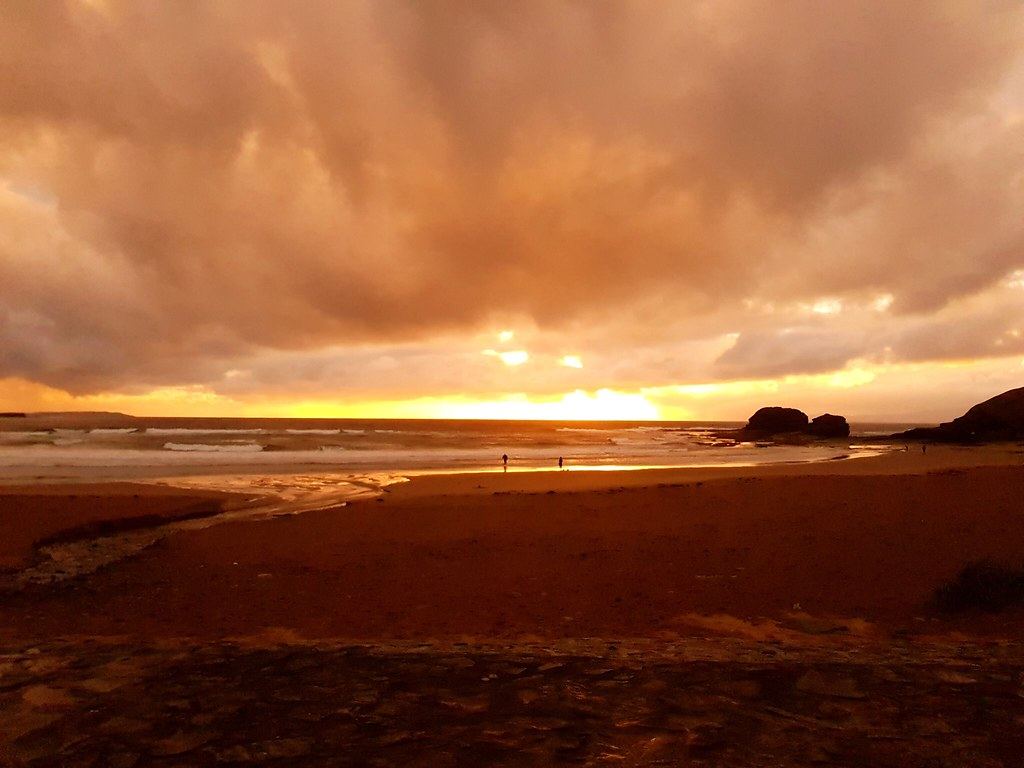 Sunset in Bundoran