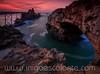 Roca de la Virgen al anochecer en Biarritz (Iñigo Escalante) Tags: biarritz euskadi euskalherria basquecountry paisvasco paisvascofrances nocturna francia eiffel beach napoleon mar cantabrico atardecer france