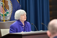 KTY51M (The_Rudin_Group) Tags: janet yellen federal reserve us press conference washington speaks speaking chair headshot board governors politics politician dc usa united states horizontal