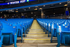 Blue Jays Winter Fest 2018 (A Great Capture) Tags: agreatcapture agc wwwagreatcapturecom adjm ash2276 ashleylduffus ald mobilejay jamesmitchell toronto on ontario canada canadian photographer northamerica torontoexplore winter l'hiver winterfest bluejays skydome rogerscentre seats mlb tour 2018 steps stairs baseball stadium field bluechairs chairs